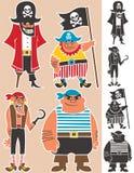 Pirates illustration de vecteur