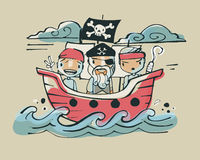 Pirates ab Royalty Free Stock Photo