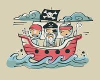 Pirates ab Royalty Free Stock Photo