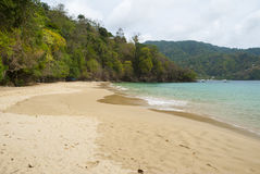 Pirates bay beach, Tobago Stock Photography