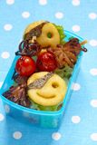 Pirates bento box for children Royalty Free Stock Images
