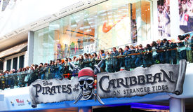 Pirates of the Caribbean: On Stranger Tides. May 12, 2011 - Westfield, London - Pirates of the Caribbean: On Stranger Tides, UK premiere Stock Images