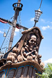 Pirates of Caribbean Theme. Pirates of Caribbean Ship in Eurodisney near Paris Royalty Free Stock Image