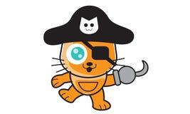Pirates Cat Stock Photo