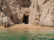 Pirates Cave at Lands End. In Cabo San Lucas, Mexico Stock Photography