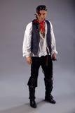Pirates d'homme des Caraïbe photo stock