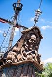 Pirates de thème des Caraïbes Image libre de droits
