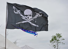 Pirates Flag Royalty Free Stock Photography