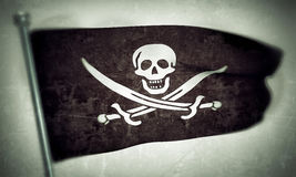 Pirates flag Royalty Free Stock Photo