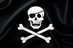 Free Pirates Flag Royalty Free Stock Photo - 3408535