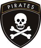 Pirates flag Stock Photography