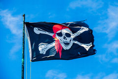 Pirates flag Royalty Free Stock Image