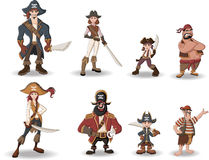 Pirates Royalty Free Stock Image