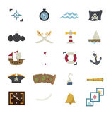 Pirates icons Stock Images