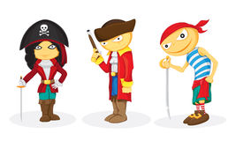 Pirates royalty free stock photography