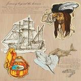 Pirates - Journey beyond the Horizon Stock Image