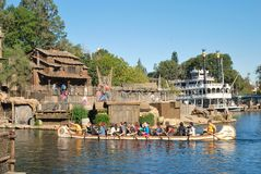 Pirates Lair on Tom Sawyers Island at Disneyland,  Royalty Free Stock Image