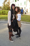 Pirates at Lucca Comics and Games 2014 Stock Image