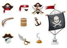 Pirates set Royalty Free Stock Images