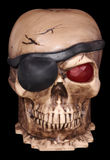 Pirates Skull. Photo of a Pirates Skull - Halloween Decoration Stock Photo