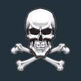 Pirates Skull and Bones Royalty Free Illustration