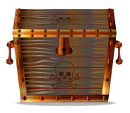 Pirates Treasure Chest Royalty Free Stock Photography