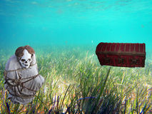 Pirates tresaure Stock Photo