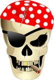 Piratez le crâne Photographie stock libre de droits