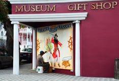 Pirati del museo di Nassau, Bahamas Immagine Stock