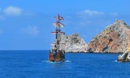 Piratical ship Stock Photos