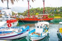Piratkopiera fartyget på Sissi Fotografering för Bildbyråer
