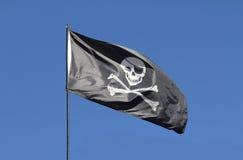 Piratkopiera flaggan Royaltyfria Foton
