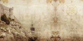 Piratkopiera grunge royaltyfria bilder
