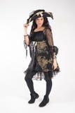 Piratkopiera kvinnan Royaltyfria Bilder