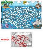 Piratkopiera (landskap) stock illustrationer