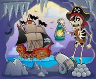 Piratkopiera liten vikämnebild 3 Royaltyfria Bilder