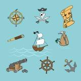 Piratkopiera liv Arkivbild