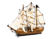 piratkopiera shipen Royaltyfria Bilder
