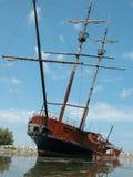 piratkopiera shipen Royaltyfria Foton