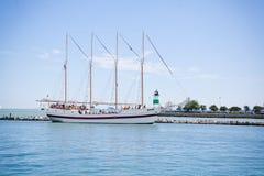 Piratkopiera skeppet Royaltyfri Fotografi