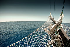 Piratkopiera skeppet Arkivbild