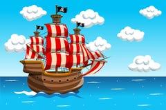 Piratkopiera skyttelhavshavet Royaltyfri Bild