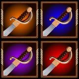 Piratkopiera svärdet Royaltyfri Bild