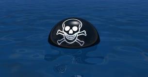 Piratkopiera symbolen Arkivfoto