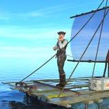 Piratkopierar Arkivbild