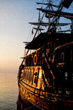 Piratkopierar av det Aegean havet Royaltyfri Fotografi