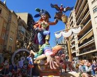 Piratkopierar av Las Fallas Royaltyfri Fotografi