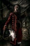 Piratkopierar modiga döda för adelsman arkivfoto