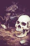 Piratkopierar och skatten Royaltyfri Bild