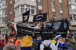 Piratkopierar på karnevalet arkivfoton